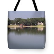 Reflections - On - Lake Weir Tote Bag