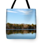 Reflections On Long Pond Tote Bag