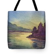 Reflections On North South Lake Tote Bag