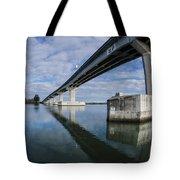Reflections On Samoa Bridge Tote Bag