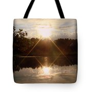 Reflections On The Bayou Tote Bag