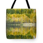 Reflections On The Columbia Tote Bag