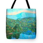 Reflections On The James River Tote Bag