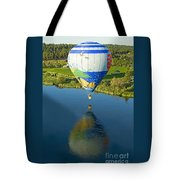 Reflections Over The Dechutes Tote Bag