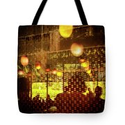 Reflections, Patterns And Silhouettes Tote Bag