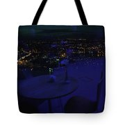 Reflections Table With A View Tote Bag