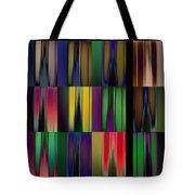 Reflective Blurs Tote Bag
