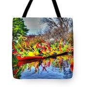 Reflective Boat Tote Bag