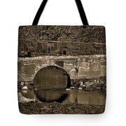 Reflective Bridge Tote Bag
