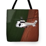 Reflective Helicopter Tote Bag