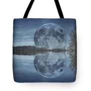 Reflective Paradise Tote Bag