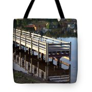 Reflective Perspective Tote Bag