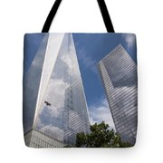 Reflective Skyscrapers Tote Bag