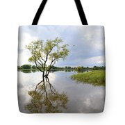 Reflective Times Tote Bag