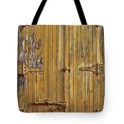 Refrigerated Boxcar Door Tote Bag
