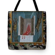 Refrigerator Rock And The King - Framed Tote Bag