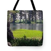 Refuge In The Mountains Tote Bag