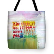 Refuge On The Cliff Tote Bag