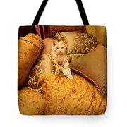 Regal Feline Tote Bag