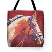 Regal Racehorse Tote Bag