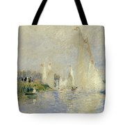 Regatta At Argenteuil Tote Bag