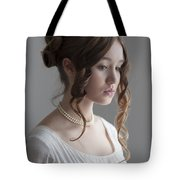 Regency Period Woman Portrait Beautiful Young  Tote Bag