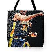 Reggie Miller Tote Bag