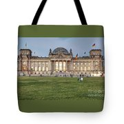 Reichstag Berlin Germany Tote Bag