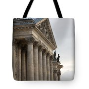 Reichstag Pillars Tote Bag