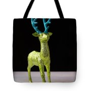 Reindeer Christmas Card Tote Bag
