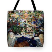 Rejoice In Your Kingship Those Who Keep Shabbes And Call It A Delight Tote Bag