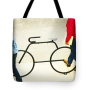 Relationship With A Bike Tote Bag
