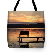 Relax And Enjoy Tote Bag