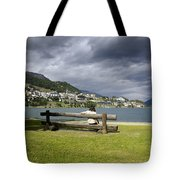 Relax In St Moritz Tote Bag