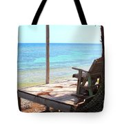 Relax Porch Tote Bag