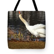 Relaxed Swan Tote Bag