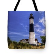 Relaxing By Big Sable Light Tote Bag