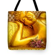 Relaxing Contemplation  Tote Bag