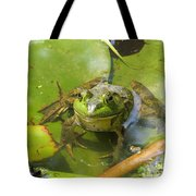 Relaxing On A Lily Pad  Tote Bag