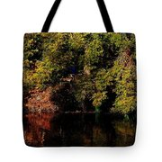 Relaxing To Sight Of Nature Tote Bag