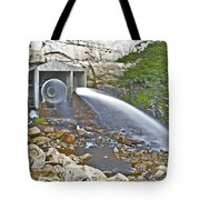 Release And Discharge Lower Bear River Tote Bag