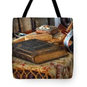 Relics Of A Lighthouse Keeper Tote Bag