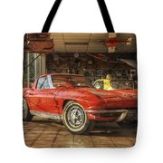 Relics Of History - Corvette - Elvis - Nehi Tote Bag