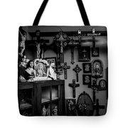 Religion And The Curio Shop Tote Bag