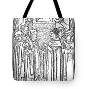 Religious Argument, 1477 Tote Bag