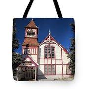 Religious Bent Tote Bag