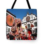 Religious Festival In Azores Tote Bag