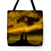 Religious Moment Tote Bag