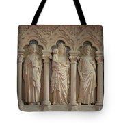 Religious Relief Tote Bag
