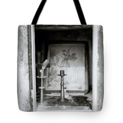 Religious Window Tote Bag